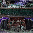 Vintage Dump Truck 4 by Kim Krause