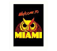 Welcome to Miami - III - Rasmus Art Print