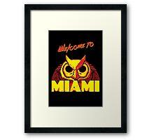 Welcome to Miami - III - Rasmus Framed Print