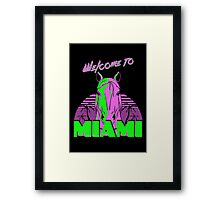 Welcome to Miami - II - Don Juan Framed Print