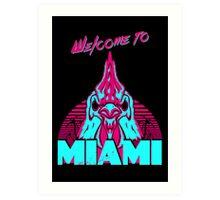 Welcome to Miami - I - Richard Art Print