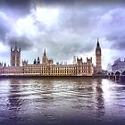 Big Ben and the houses of parliament by JillySB