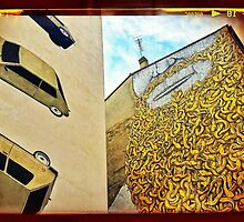 Snakes slither as cars crash... by MikeShort