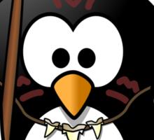 Wild Penguin Sticker