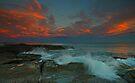 A Little Splash at Sunset by bazcelt
