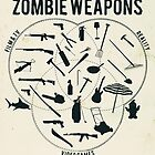 Zombie weapons by Emma Harckham