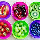 fruit pots by Michelle McMahon
