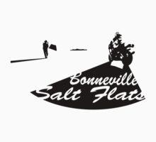 Bonneville Salt Flats Motorcycle Design Kids Clothes