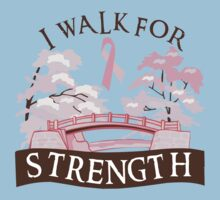 I walk for strength by causes