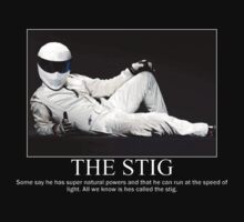 "The Stig ""Some say..."" by LPdesigns"