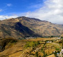 Farming The Summits Of The Andes by Al Bourassa