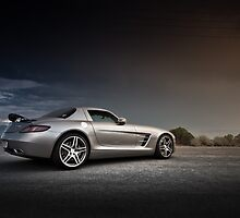 Mercedes-Benz SLS AMG by Gil Folk
