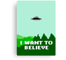 I Want To Pixellate Canvas Print