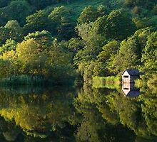 Rydal Boat House by John Dunbar