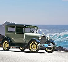 1927 Ford Model A Tudor Sedan by DaveKoontz