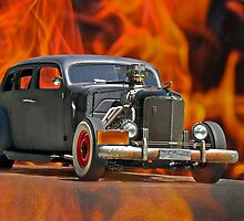 1938 Cadillac 'Lucifer's Limo' by DaveKoontz