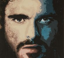 Acrylic Painting of Rob Stark by Matthew Duckworth