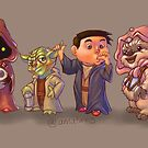 The Star Wars Cute Pack! by Anthony Mata