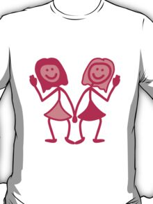 Friendly Girls T-Shirt