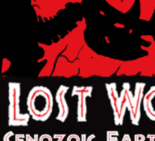 The Lost World - Rhino Sticker