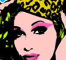 """The Warhol Project: """"Monsoon Season"""" Sticker"""