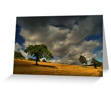 What If All The Grey Clouds In The Sky Follow Me Home Tonight? Greeting Card