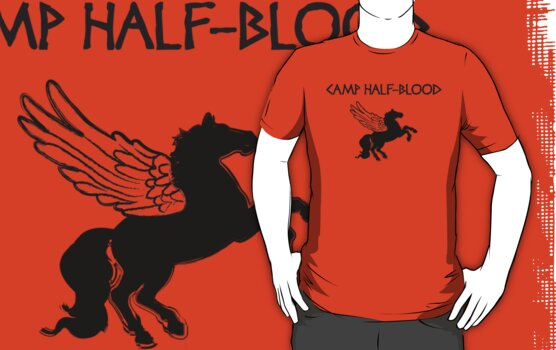 Camp Half-Blood Camp Shirt by Rachael Thomas