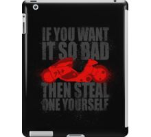 Steal one yourself iPad Case/Skin