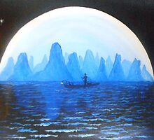 Li River Moonlight by Noel Smith