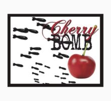 cherry bomb STICKER by tiffanyo