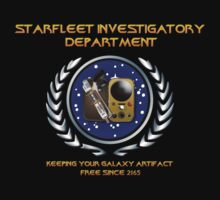 Warehouse 13: TNG Starfleet Investigatory Department by 3of8