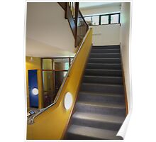 Hall, stairs and landing Poster