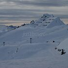 Peaks and Pylons by justbmac