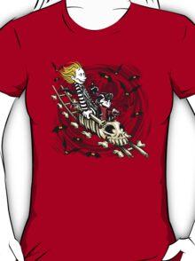 Calvydia and Beetlehobbes (Light Shirts) T-Shirt