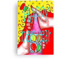 HAPPY NEW YEAR 15 Canvas Print