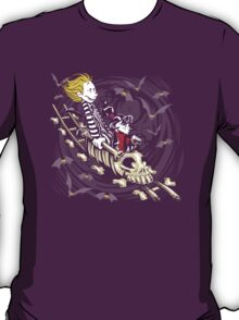 Calvydia and Beetlehobbes (Dark Shirts) T-Shirt