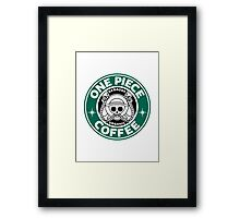One Piece Coffee Framed Print