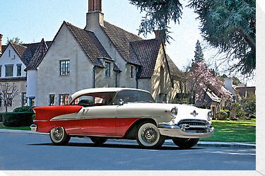 1956 Oldsmobile Two-Door Hardtop by DaveKoontz
