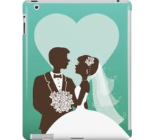 Wedding invitation design iPad Case/Skin