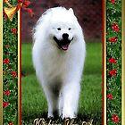 Samoyed Dog Christmas by Oldetimemercan