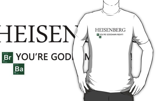 Breaking Bad - T-Shirt - Heisenberg. by MrWhiteBRBA