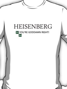 Breaking Bad - T-Shirt - Heisenberg. T-Shirt