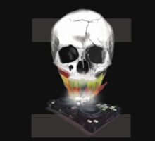 SKULL DJ  by M&J Fashion Graphic