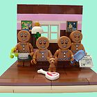 The Gingerbread Family  by minifignick