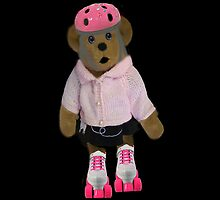 "。◕‿◕。 ""WHAT"" YOU DIDN'T KNOW TEDDY BEARS CAN ROLLER SKATE WELL YOUR LOOKIN AT ONE!! IPAD CASE。◕‿◕。  by ╰⊰✿ℒᵒᶹᵉ Bonita✿⊱╮ Lalonde✿⊱╮"