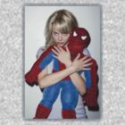 Emma Stone - Spiderman - Faded Border  by aelari1