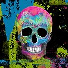 Painted Skull by TinaGraphics