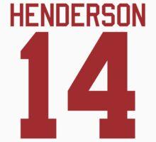 Logan Henderson jersey - red text by sstilinski