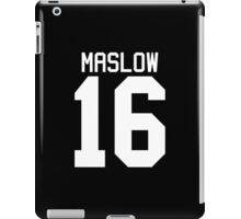 James Maslow jersey - white text iPad Case/Skin