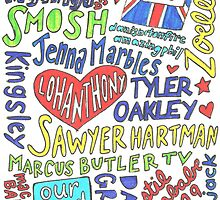 Youtubers Collage by samonstage
